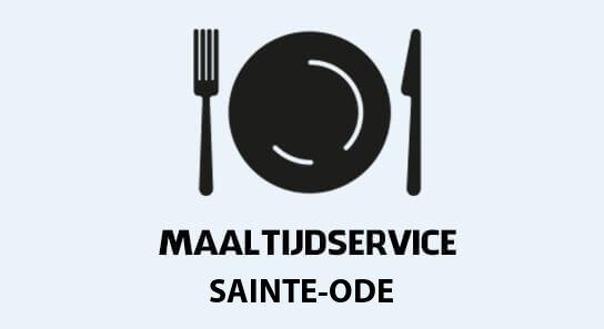 verse maaltijden aan huis in sainte-ode