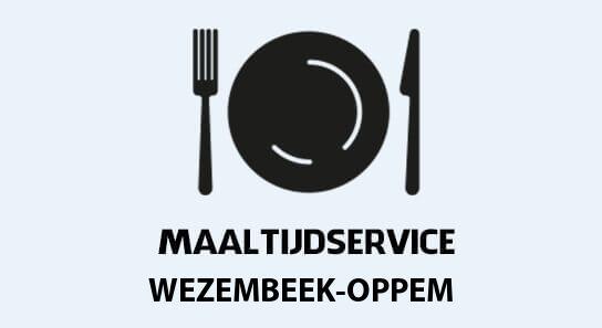 warme maaltijden aan huis in wezembeek-oppem